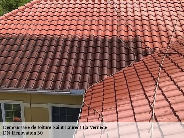 Demoussage de toiture  saint-laurent-la-vernede-30330 Rudy couverture